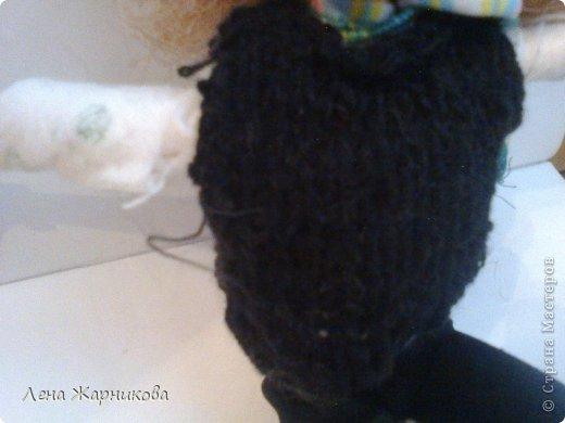 Привет СМ!Мы продолжаем участвовать в конкурсах.Мы начинаем! Лена/Микки 10/16 М: Привет.Всем же хочется гулять,да? Ну вот мне сделали костюмчик!Он состоит из:шапки,шарфика,жилетки,кофты и штанов. фото 4