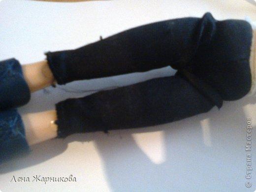 Привет СМ!Мы продолжаем участвовать в конкурсах.Мы начинаем! Лена/Микки 10/16 М: Привет.Всем же хочется гулять,да? Ну вот мне сделали костюмчик!Он состоит из:шапки,шарфика,жилетки,кофты и штанов. фото 6