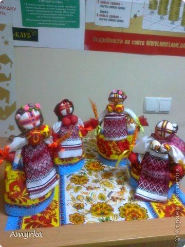 Пасхальные куклы моих учениц не могу не выложить красоту) фото 2