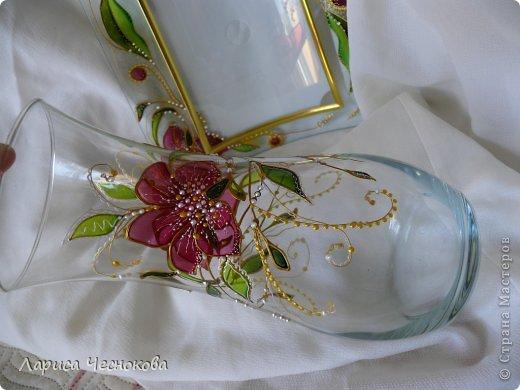 getimage_9_0 Вазы из стеклянных бутылок: декор, роспись и обрезка