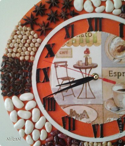Крупа: фасоль белая и красная, нут, зерна кофе, специя Бадьян. фото 3