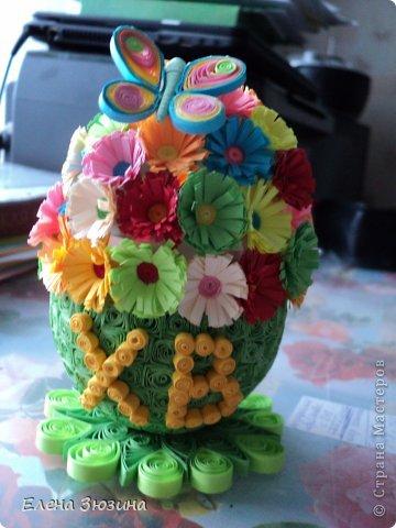 Сегодня я покажу несколько работ, которые мы делали с детьми к празднику Пасхи. фото 5