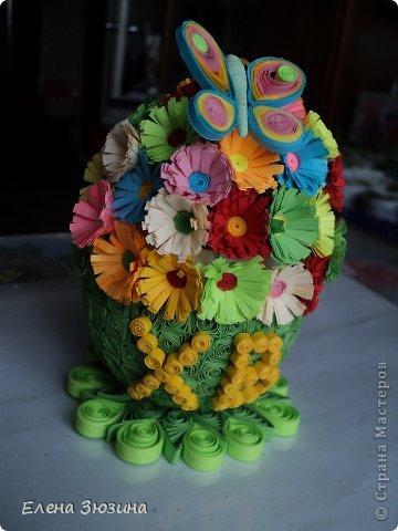 Сегодня я покажу несколько работ, которые мы делали с детьми к празднику Пасхи. фото 7
