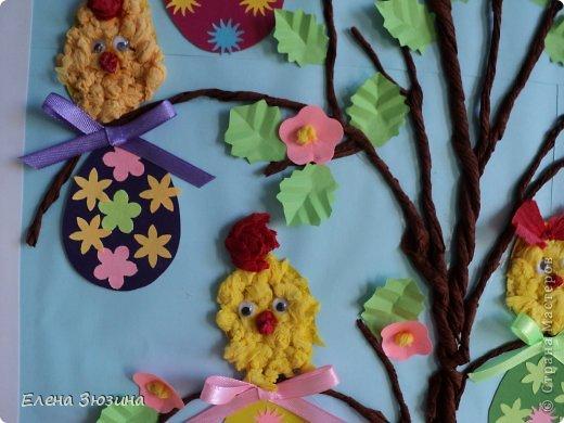 Сегодня я покажу несколько работ, которые мы делали с детьми к празднику Пасхи. фото 13