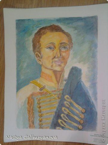 """Эту картину я написала пастелью.Её название:""""Отражение заката на водной глади реки"""" фото 3"""