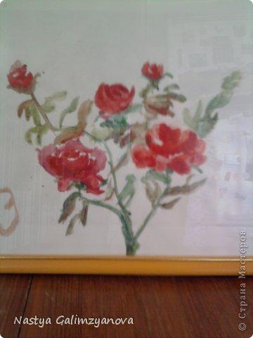 """Эту картину я написала пастелью.Её название:""""Отражение заката на водной глади реки"""" фото 4"""