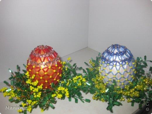 Вот ещё пасхальные яйца сделала в подарок. фото 1