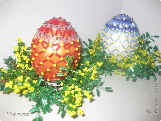 Вот ещё пасхальные яйца сделала в подарок. фото 5