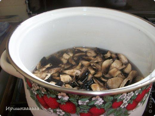 Кулинария Мастер-класс Молочный суп с шампиньонами  Овощи фрукты ягоды Соль фото 6