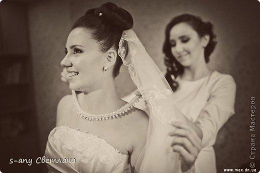 Свадебные вещицы. которые мы с младшей дочкой делали для старшей. Старались, вкладывали душу... Коробочка для колец фото 8