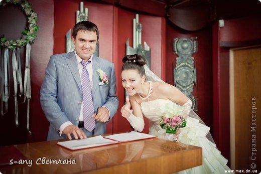 Свадебные вещицы. которые мы с младшей дочкой делали для старшей. Старались, вкладывали душу... Коробочка для колец фото 20