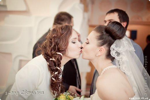 Свадебные вещицы. которые мы с младшей дочкой делали для старшей. Старались, вкладывали душу... Коробочка для колец фото 22