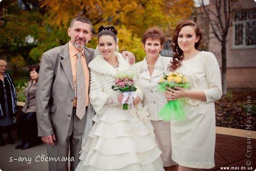 Свадебные вещицы. которые мы с младшей дочкой делали для старшей. Старались, вкладывали душу... Коробочка для колец фото 23