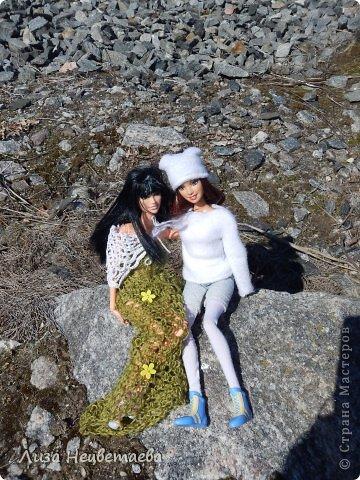 Всем привет!!! Сегодня мы с Алёнчиком06 ходили погулять к железной дороге. И конечно же прихватили с собой кукол!!! фото 7