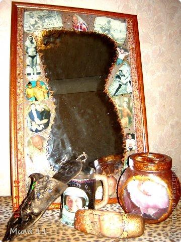 Зеркало было 5 м подарком на Юбилей моему любимому мужчине ! Мы его назвали Омут Памяти ! фото 1