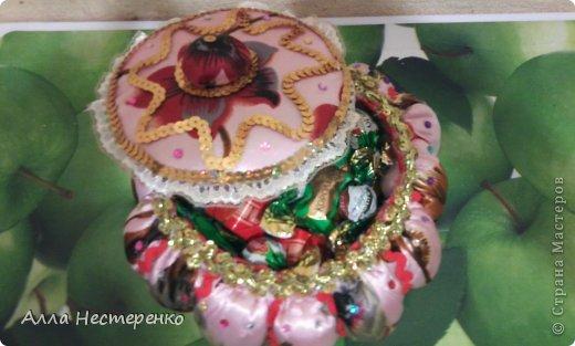 Шкатулочка ко Дню Рождения!!!По М.К.мастерицы Калининой Татьяны ,спасибо ! фото 3