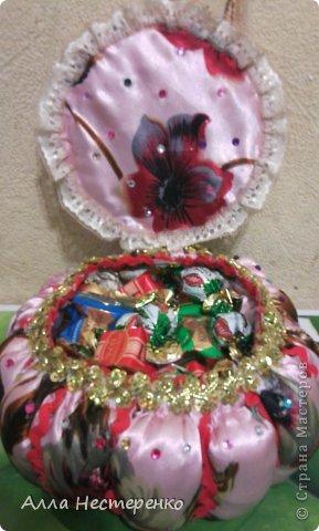 Шкатулочка ко Дню Рождения!!!По М.К.мастерицы Калининой Татьяны ,спасибо ! фото 4