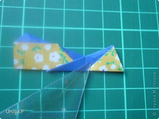 Большой привет!  Хочу похвастаться: получилась хорошая по всем параметрам моделька.  Экономичный расход бумаги, модули немелкие, сборка простая и очень прочная, в итоге получается некрупная. Можно сказать, конструктор немецкого качества. Потому и имя ей Гретель.   Name: Gretel Designer: Uniya Filonova   Units: 30  Paper: 5 x 7,5 cm ( ratio 2:3 )  Final diameter: ~ 8,5 cm  Joint: no glue  модель принимала участие во флешмобе https://stranamasterov.ru/node/769691  фото 24
