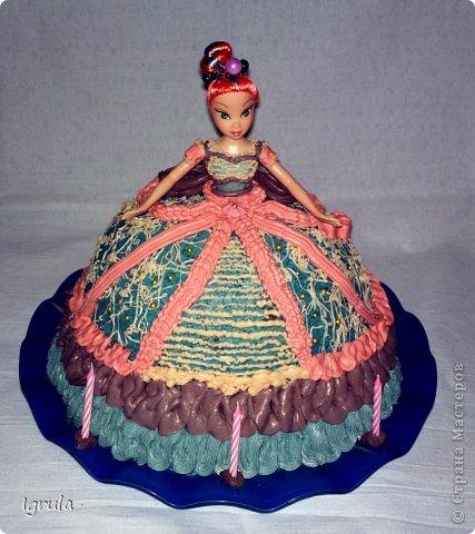 """Всем доброго времени суток. Совсем  скоро у моей дочурки день рождения. В честь этого события предусмотрительно и заблаговременно (ещё в январе) ею был заказан домашний тортик в виде фёрби (игрушка такая), а поскольку тортов я раньше не пекла, то конечно же тренировка необходима. Первый тортик я показывать не буду. Дело в том, что он был сделан на д.р. мужу и был в виде обнаженного женского бюста, а правила сайта не одобряют фото подобного содержания. Поэтому """"любуйтесь"""" на меня фото 14"""