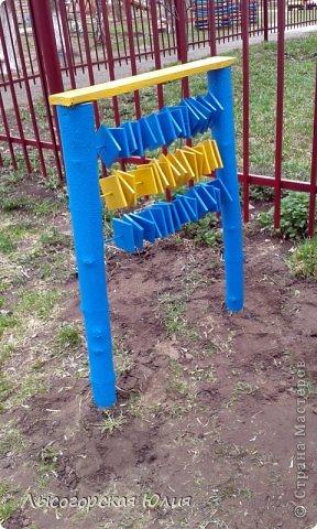 Счёты на детскую площадку своими руками