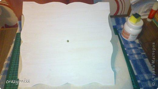Декор предметов Мастер-класс День рождения Декупаж МК ДЕКУПАЖ  КОФЕЙНЫЕ ЧАСЫ    Дерево Кофе Краска фото 3
