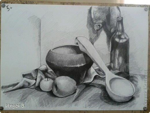 девушку нарисовал Максим карандашом с фотографии  фото 5