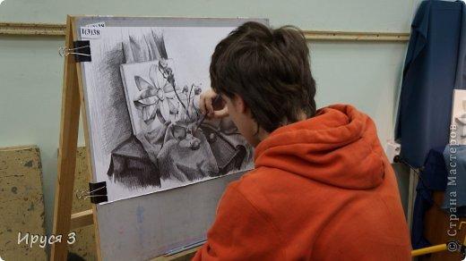 девушку нарисовал Максим карандашом с фотографии  фото 2