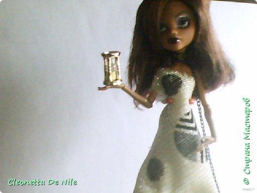 Сегодня я хочу показать вам платье которое я сшила для Клодин. фото 1