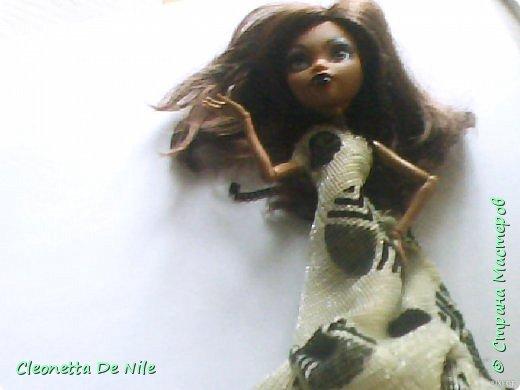 Сегодня я хочу показать вам платье которое я сшила для Клодин. фото 5