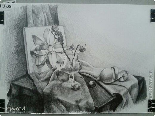 девушку нарисовал Максим карандашом с фотографии  фото 3