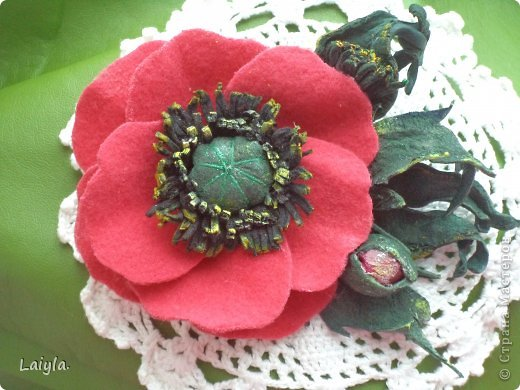 Здравствуйте дорогие друзья!!!Пришла весна,всё вокруг цветёт и пахнет и в моём творческом саду расцвели прекрасные цветочки.Правда не пахнут , но глаз радуют.... фото 46