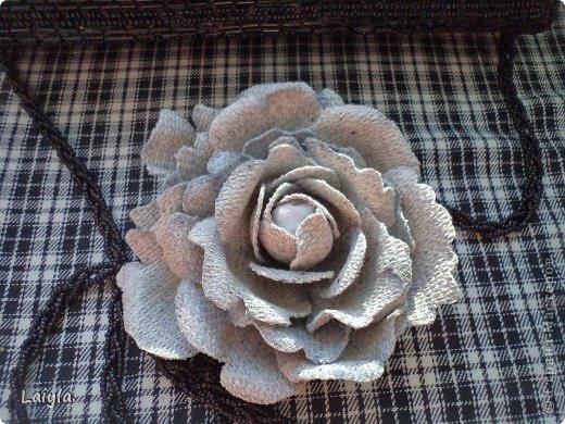 Здравствуйте дорогие друзья!!!Пришла весна,всё вокруг цветёт и пахнет и в моём творческом саду расцвели прекрасные цветочки.Правда не пахнут , но глаз радуют.... фото 66