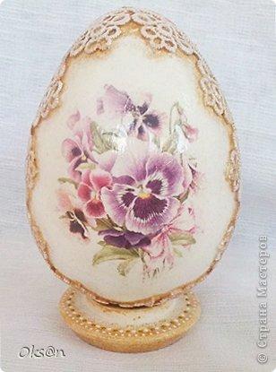 Вдогонку ещё несколько пасхальных сувениров - пасхальные яйца фото 2