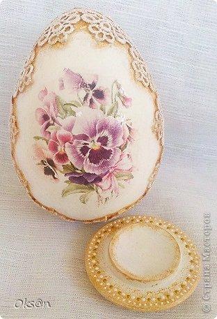 Вдогонку ещё несколько пасхальных сувениров - пасхальные яйца фото 4