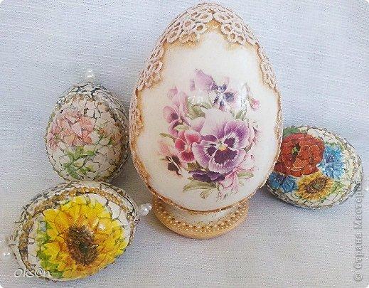 Вдогонку ещё несколько пасхальных сувениров - пасхальные яйца фото 5