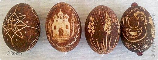 Вдогонку ещё несколько пасхальных сувениров - пасхальные яйца фото 6