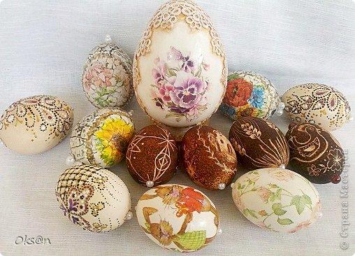 Вдогонку ещё несколько пасхальных сувениров - пасхальные яйца фото 9