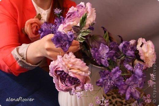 Цветы шёлкам своими руками