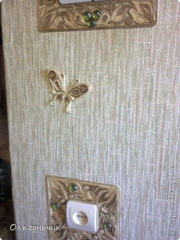 Интерьер Поделка изделие Фоторепортаж Аппликация Квиллинг Лепка Еще бабочки и другое  Салфетки Тесто соленое Шпагат фото 5