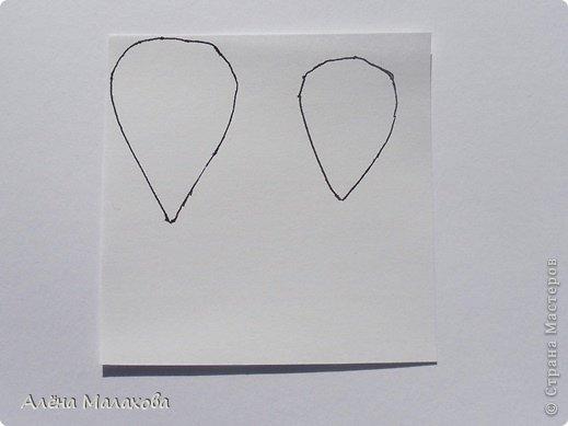 Мастер-класс Флористика Роза из гофрированной бумаги Бумага гофрированная Клей фото 2