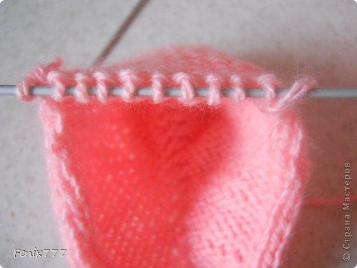 Гардероб Мастер-класс Пасха Вязание спицами Следки спицами Пряжа фото 12