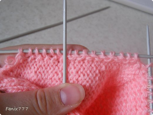 Гардероб Мастер-класс Пасха Вязание спицами Следки спицами Пряжа фото 16