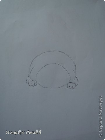 Сегодня мы будем рисовать всем известного персонажа  «Garfield». фото 4