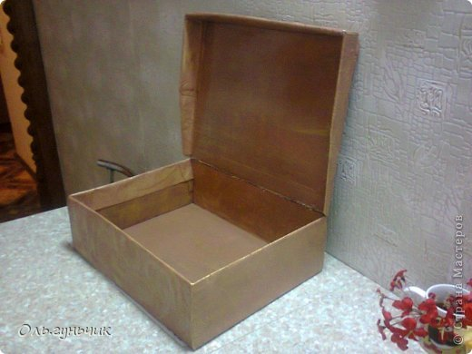 И снова здравствуйте!!! Наконец то я закончила коробку для кукольного театра!!! первая вот тут: https://stranamasterov.ru/node/740479 в садике наверное уже заждались))) после праздников отнесу! фото 3