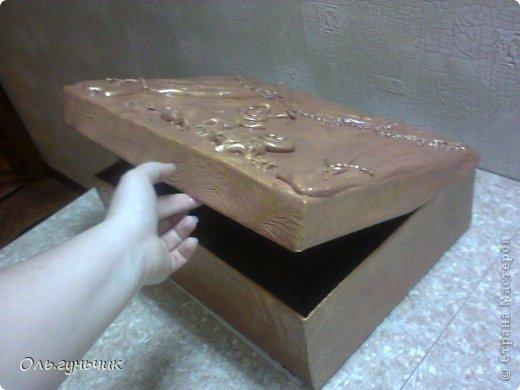 И снова здравствуйте!!! Наконец то я закончила коробку для кукольного театра!!! первая вот тут: https://stranamasterov.ru/node/740479 в садике наверное уже заждались))) после праздников отнесу! фото 4