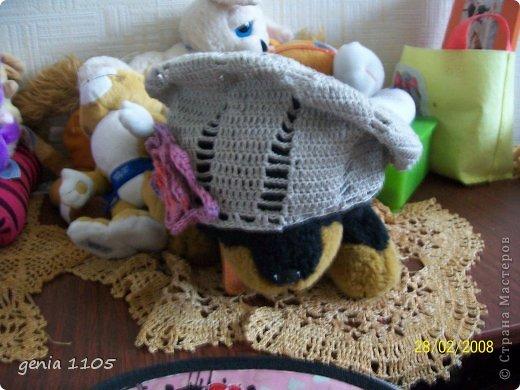 """Здравствуйте мои дорогие! Связалась у меня серия шапочек для продажи. Вот эту уже купили на стадии производства. Нитки """"Снежинка с метанитом"""" 25гр/190м -95 % хлопок,5% метанит. фото 11"""