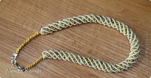спиральные жгуты из бисера