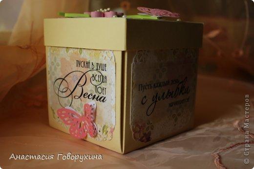 Доброго времени суток жители Страны Мастеров!!! Вашему внимаю представляю еще одну коробочку с сюрпризом по случаю дня рождения замечательного человека.   фото 4