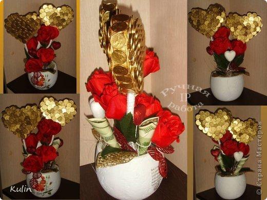 """""""дела сердечные"""" в пару к подкове с розами фото 1"""