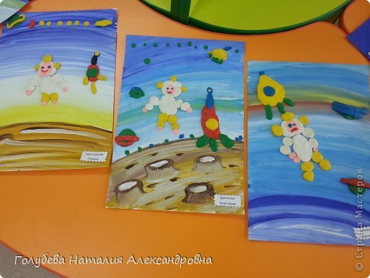 """Вот такие замечательные работы у нас получились с детьми детского сада """"Мозаика"""". фото 1"""